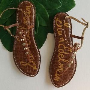 New Sam Edelman gigi studded thong sandal